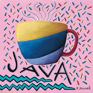 Coffee Lover tiles - Java