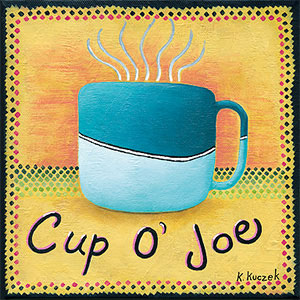 Coffe Lover tiles - Cup of Joe