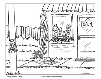 ice cream store coloring pages-#37