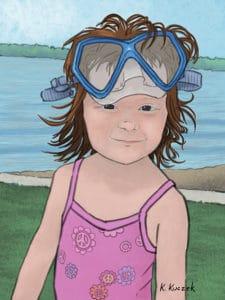 Keanna Portrait illustration