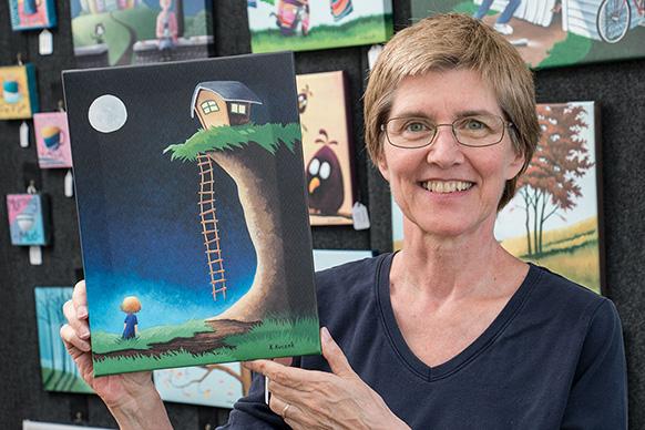 Kathy Kuczek wins Best of Show Award