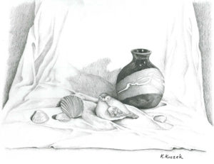 Pencil Drawing - Still Life