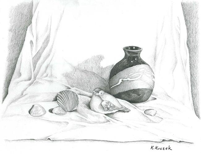 Pencil Drawing - Still Life