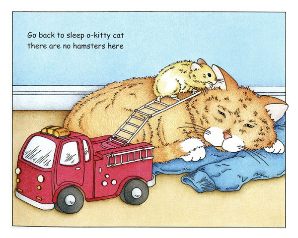 Hamster Book Page