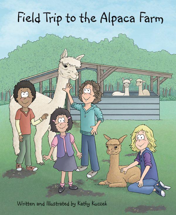 Field Trip to the Alpaca Farm