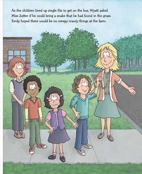Alpaca Book Get on the Bus pg 4