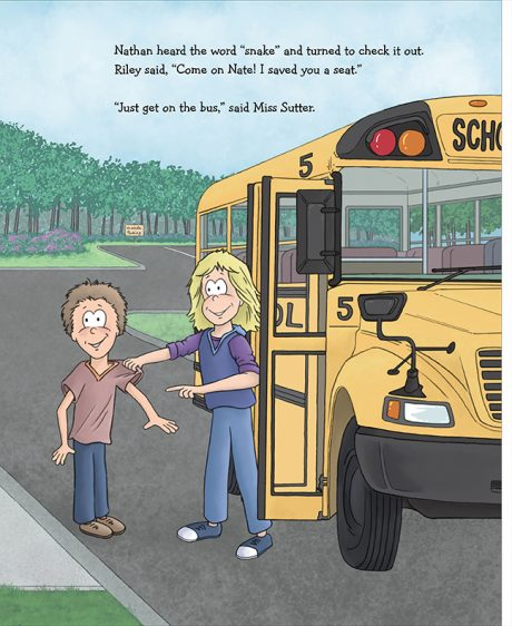 Alpaca Book Get on the bus page 5