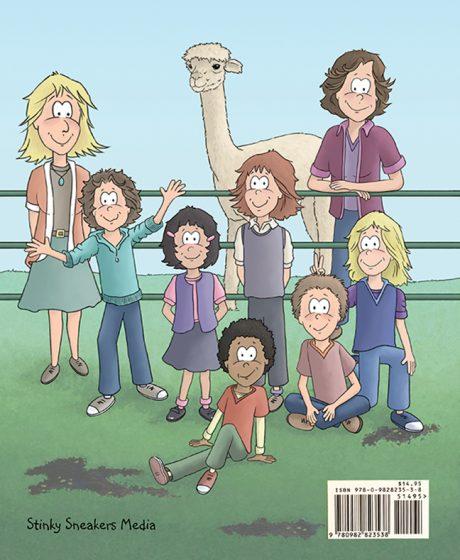 Alpaca Book back cover