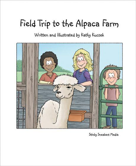 Alpaca Book Title page